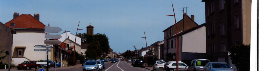 Travaux d'enfouissement réseaux secs rue de Jouy